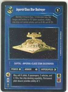 Star Wars CCG Tournament FOIL ISD Imperial-Class Star Destroyer Slight Wear LP