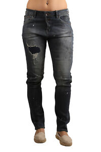 Clothing, Shoes & Accessories Jeans Brilliant Garcia Damen Stretch-jeans Luisa C70111-2237 Tapered Leg Painted Flower