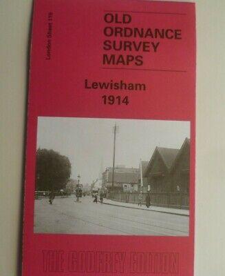 Old Ordnance Survey Map Eltham Green London 1894 Godfrey Edition Special Offer