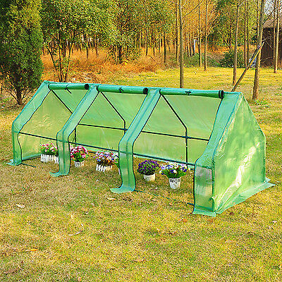9'x3'x3'Greenhouse Gardening Flower Plants Yard Seedling Mini Hot House Tunnel