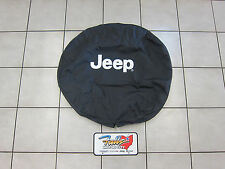 2007-2017 Jeep Wrangler and Jeep Liberty Spare Tire Cover Mopar OEM