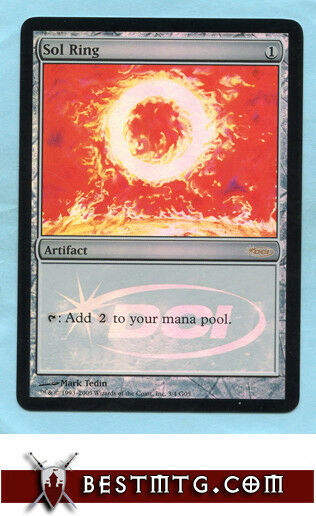 MTG - Sol Ring  D - Promo - Judge Promos