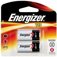 CR123A Lithium Energizer Batteries 2/Pack, EXP 2026, 1500mAh 3V Photo