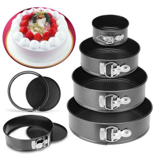 Pans Kitchen Cake Tools Metal Round Mold Dish Non-stick Bake Accessories
