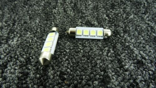 "239 272 C5W C10W MERCEDES-BENZ LED CANBUS ERROR FREE FASTOON BULB /""39mm 4 SMD/"""