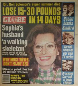 Globe Magazine June 23 1981 Sophia Loren Cover - Farrah Fawcett TV Series