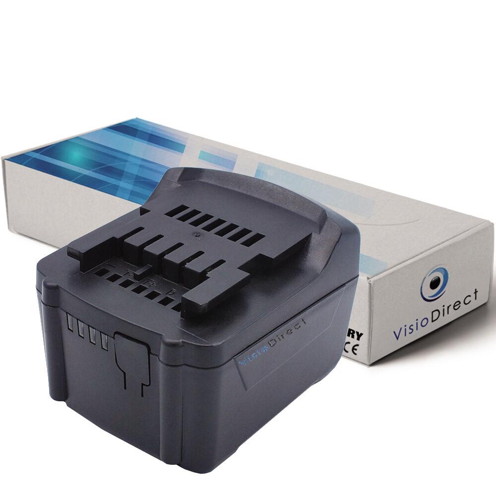 Batterie type 6.25467 14.4V 3000mAh pour Metabo - Société Française -