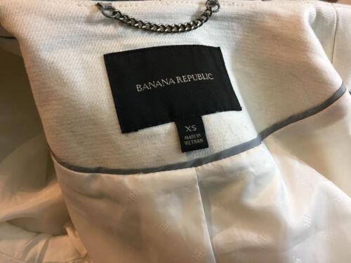 Crème Xs Veste De Moto Cassé Republic Zippée Banana Blanc S 70Owxaq