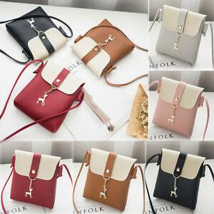 Lady-Small-Leather-Handbag-Shoulder-Cross-Body-Bag-Tote-Messenger-Satchel-Purse