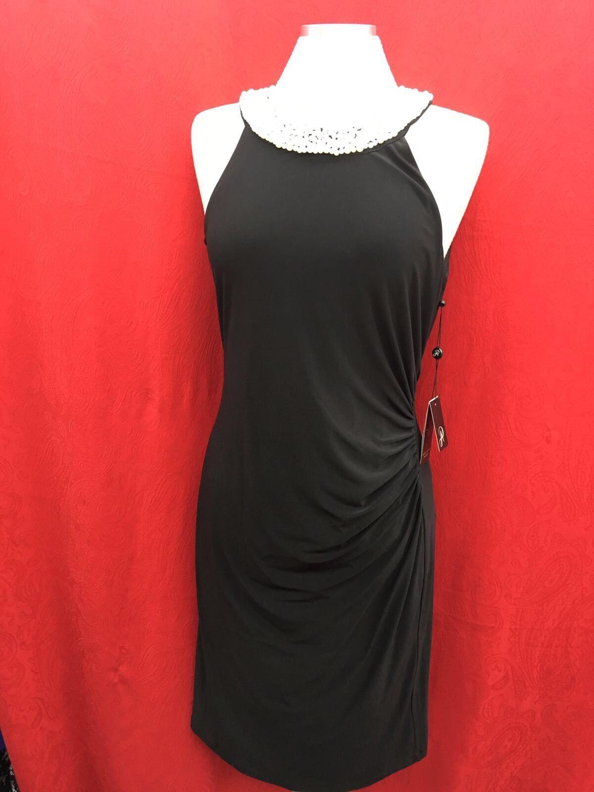 a4fdfffb769c27 Adrianna Papell Kleid mit Etikett Größe 8 Einzelhandel Stoff 99.1cm Neu  nvfgqp2362-Kleider