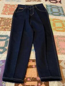 Women-s-Vintage-PS-GITANO-Dark-Denim-Blue-MOM-Jeans-Size-8-EVC-FREE-US-SHIP