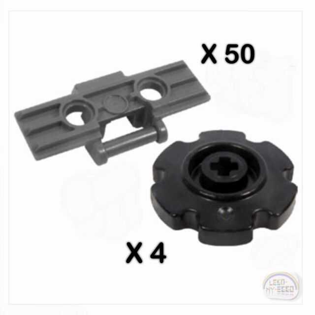 NXT, EV3, Robot, Treads LEGO Technic Black 8-Pc Small Sprocket Set New -