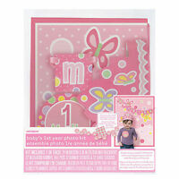 Baby's 1st Year Photo Props Kit Gift Personalize Age Sticker Girl