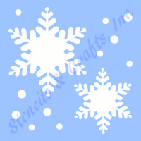 Snowflakes Stencil Christmas Snowflake Stencils Template Templates Craft 8