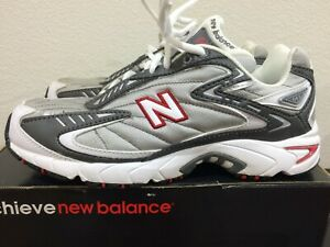 NEW Womens New Balance 641 Size 8 Silver/Grey/Red Vintage Running ...