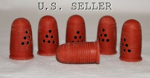 Finger Cots Rubber Size Medium Package of 6