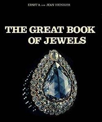 """HUGE """"Great Book of Jewels"""" Ancient Medieval Gems Jewelry Origins 200+ Color Pix"""