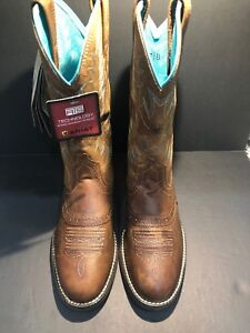 9892f00af1c Ariat Womens 10023178 Heritage Stockman Western Boot Size 7.5 B ...