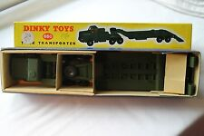 DINKY 660 TANK TRANSPORTER. circa MINT. rilasciati 1956-63