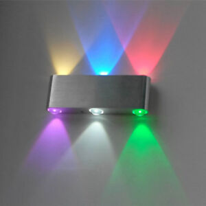 Dimmable//Not 6W LED Wall Sconces Light Fixture Up//Down Lamp Bedroom Lobby Disco