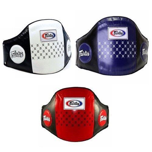 FAIRTEX BPV1 PRO GUARD BOXING SPORTING K1 MMA MUAY THAI BELLY PAD PROTECTOR