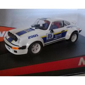 Slot-Car-Ninco-50365-Porsche-911-Rally-Cataluna-2005-Compatible-1-32-Scalextric