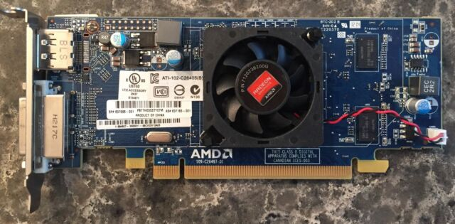 Lot 2 Dell AMD Radeon HD 6450 1GB Low Profile Video Card ATI-102-C26405 6XMMP B