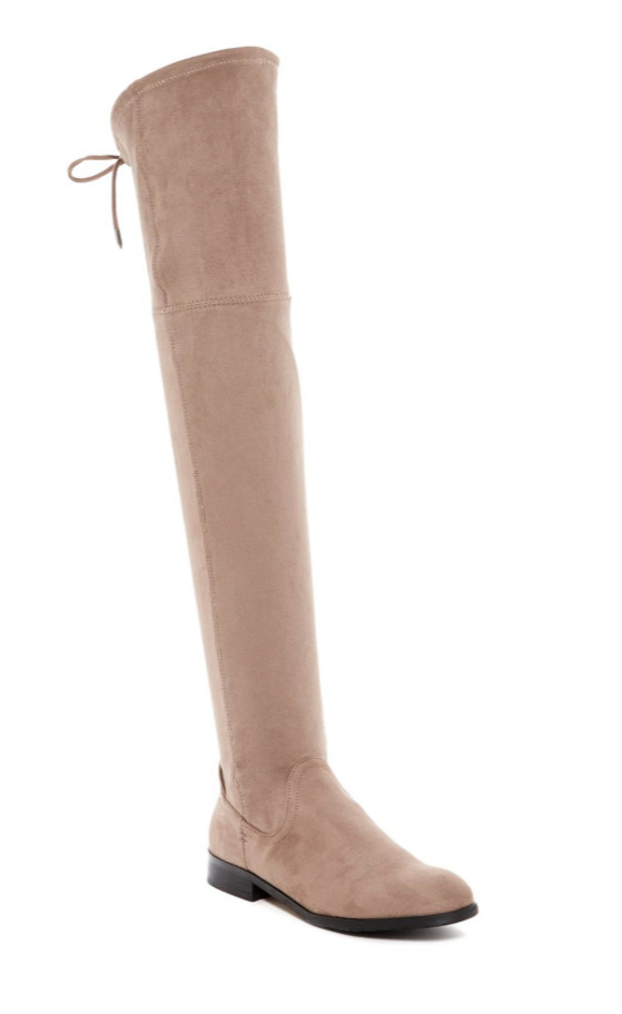 Dolce Vita Neely Over Knee Women's Light Brown Boot Sz 8.5 2887 *