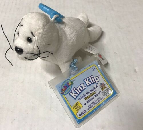 Webkinz Kinz-Klip Seal With Online Code To Collect And Love Ganz