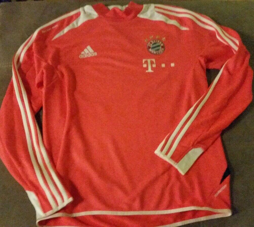 FC Bayern München Aufwärm Top Matchworn, Teamwear