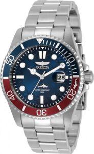 INVICTA Pro Diver Quartz Blue Dial Pepsi Bezel Men's Watch 30951