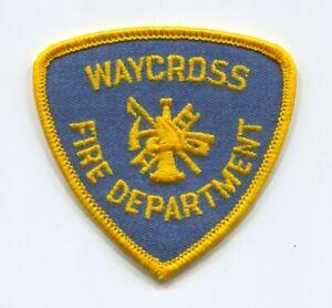Waycross-Fire-Department-Patch-Georgia-GA-Hat-Size