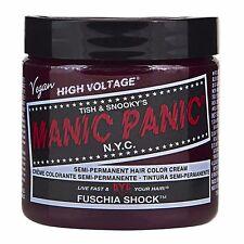 Manic Panic Vegan Semi Permanent Hair Color Dye Cream 118 mL Fuschia Shock