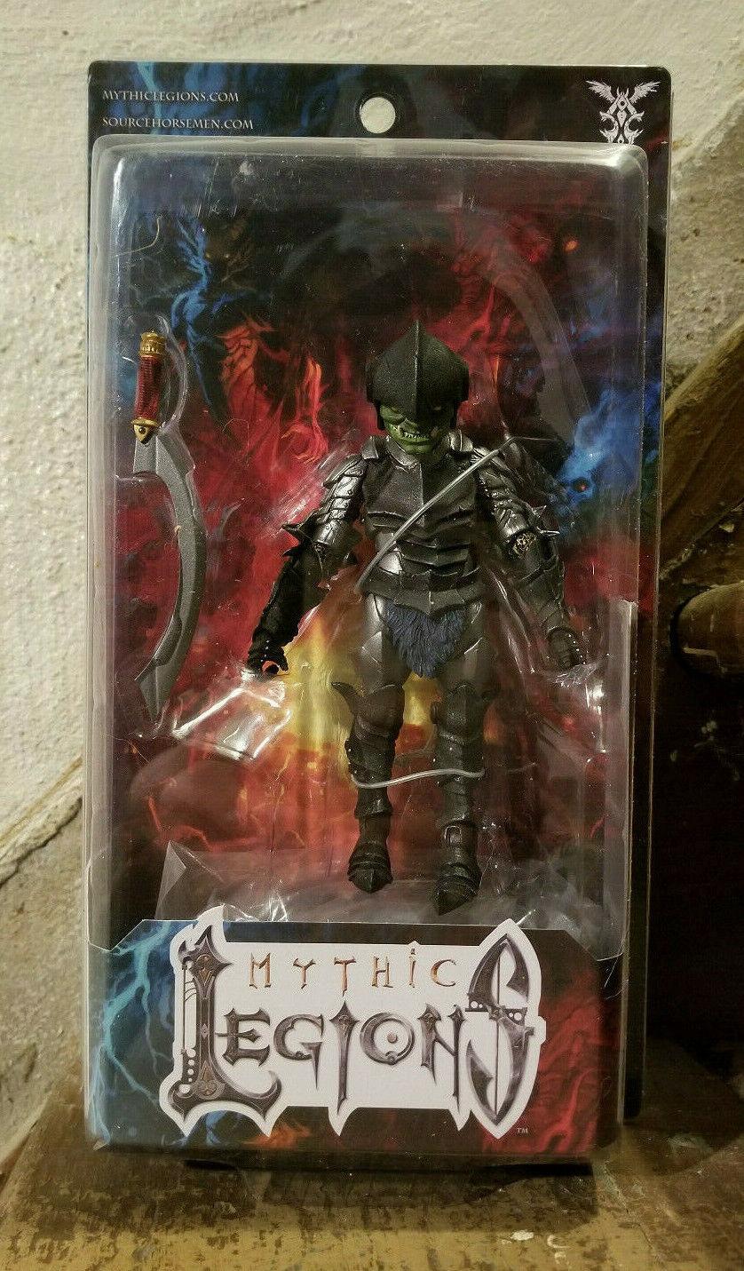 MYTHIC LEGIONS GOBLIN ARCHER THWIKK cifra 4 HORSEuomo Dragon Siege Bjorngar Ogre