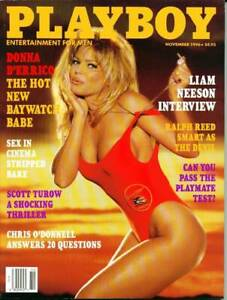 Playboy-Magazine-November-1996-Actress-Donna-D-039-Errico