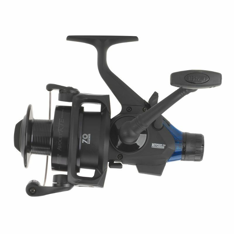 Mitchell Avocet 6500 Freespool RTE Reel bluee Edition