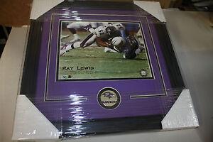 BALTIMORE-RAVENS-RAY-LEWIS-52-FRAMED-8X10-PHOTO-ALL-PRO-SUPER-BOWL-MVP