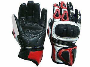 Motorcycle-Motorbike-Italian-TPU-Knuckle-Protection-Professional-Leather-Gloves