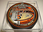 Drew Miller Signed 2007 Stanley Cup Champions Hockey Puck Go Ducks! Auto. #2