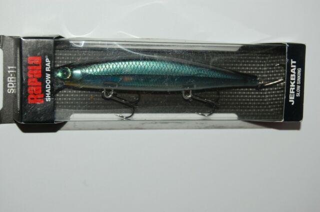 4 Rapala Shadow Rap SDR-11 Jerkbait Fishing Lures Lot of 4