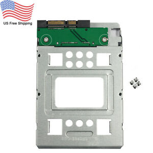 2-5-034-SSD-to-3-5-034-Converter-HDD-Tray-Caddy-Hard-Disk-Drive-Adapter-654540-001