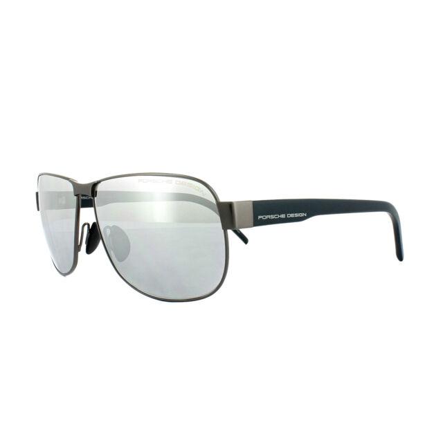 43531c2ca631 Porsche Design Sunglasses P8633 C Grey Blue Grey Silver Mirror for ...