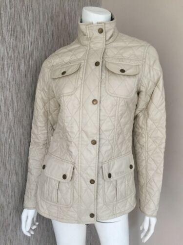 acolchada Barbour 8 talla chaqueta Pearl Manderston qwxBRUg 8781ab2fb2c3