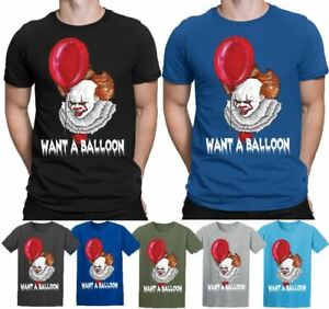 It Chapter 2 Pennywise Grin Horror Movie Licensed Sublimation Adult T-Shirt