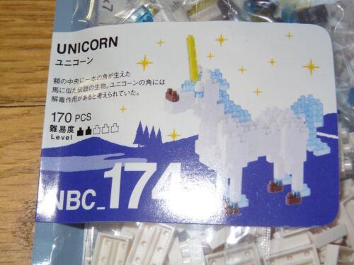 Unicorn Nanoblock Micro Sized Building Block Construction Toy Kawada NBC174