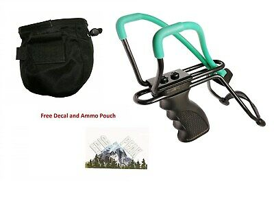 Epic Peak Highpowered Hunting Slingshot with Extra Band and Free Decal