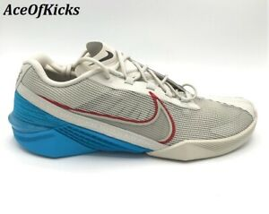 Nike React Metcon Turbo Light Bone Blue Red US SZ 8.5 Men's CT1243-003
