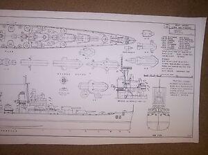 CA68 uss baltimore ship boat model boat plans