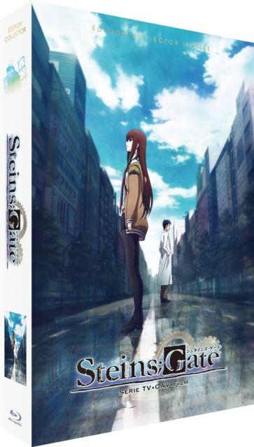 ★ Steins;Gate ★ Intégrale + Film - Collector Limitée A4 [Blu-ray] + DVD