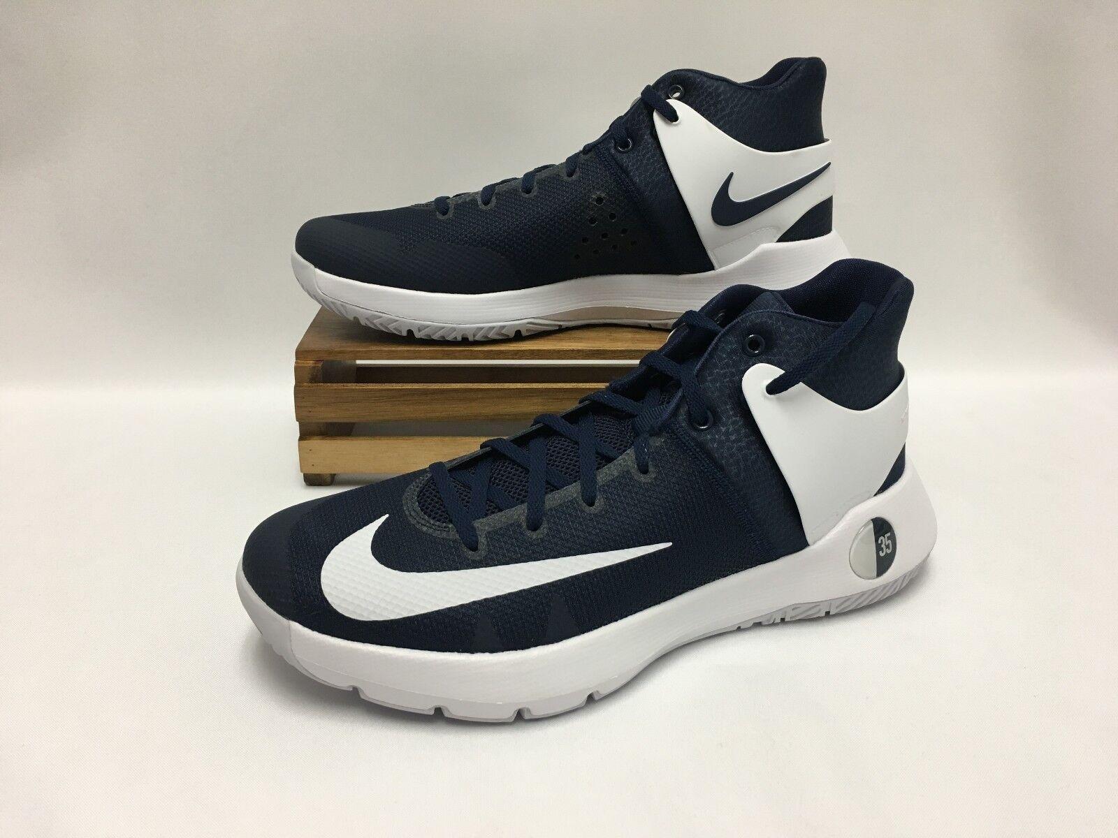 Nike KD Trey v iv blanco TB 844590-410 medianoche Marina blanco iv zapatos de baloncesto de los hombres nuevos el último descuento zapatos para hombres y mujeres 805178